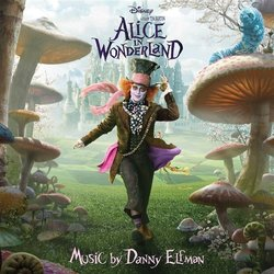 Alice in Wonderland 声带 (Danny Elfman) - CD封面