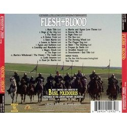 Flesh+Blood Soundtrack (Basil Poledouris) - CD Achterzijde