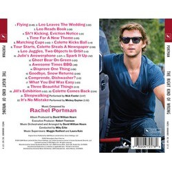 The Right Kind of Wrong Soundtrack (Rachel Portman) - CD Back cover