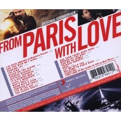 From Paris with Love Soundtrack (David Buckley) - CD Trasero