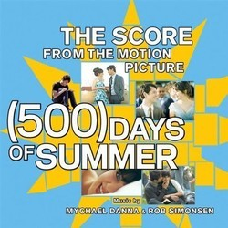 (500) Days of Summer Soundtrack (Mychael Danna, Rob Simonsen) - Car�tula