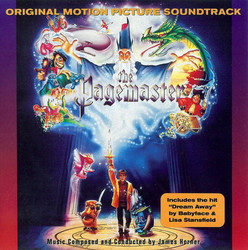 The Pagemaster Colonna sonora (James Horner) - Copertina del CD