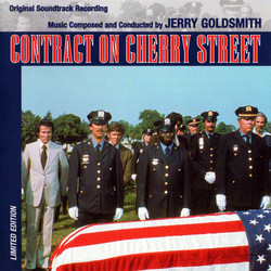 Contract on Cherry Street Soundtrack (Jerry Goldsmith) - CD cover