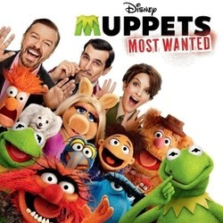 Muppets Most Wanted Soundtrack  (Various Artists, Christophe Beck) - CD cover