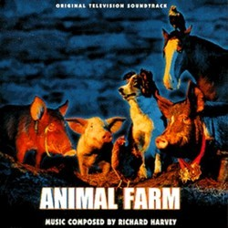 Animal Farm Soundtrack (Richard Harvey) - CD cover