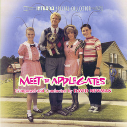 Meet the Applegates Soundtrack (David Newman) - CD-Cover