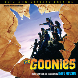 The Goonies Soundtrack (Dave Grusin) - CD cover