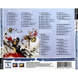 The Blue Max Soundtrack (Jerry Goldsmith) - CD Back cover