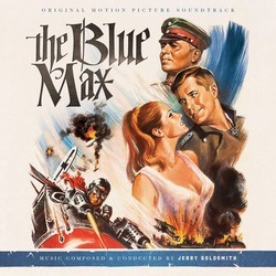 The Blue Max Soundtrack (Jerry Goldsmith) - CD cover