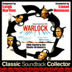 Warlock Soundtrack (Leigh Harline) - CD cover