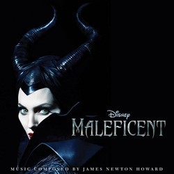 Maleficent Soundtrack (James Newton Howard) - CD cover