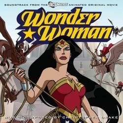 Wonder Woman Bande Originale (Christopher Drake) - Pochettes de CD