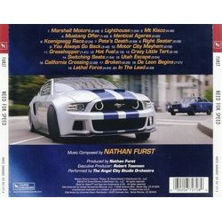 Need For Speed Soundtrack (Nathan Furst) - CD Back cover