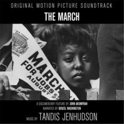 The March Soundtrack (Tandis Jenhudson) - CD cover