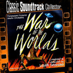 The War of the Worlds Soundtrack  (Leith Stevens) - CD cover
