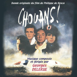Chouans! Soundtrack  (Georges Delerue) - CD cover