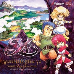 Wanderers from Ys Soundtrack (Falcom Sound Team jdk) - CD cover