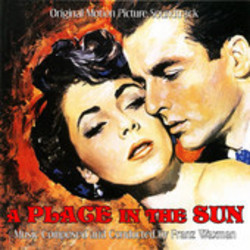 A Place in the Sun Soundtrack (Franz Waxman) - CD cover