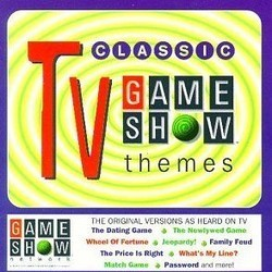 Classic TV Game Show Themes 声带 (Various Artists) - CD封面