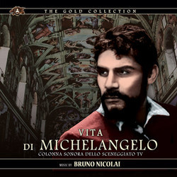 Vita Di Michelangelo Soundtrack (Bruno Nicolai) - CD cover