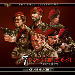 Sette Baschi Rossi Soundtrack (Gianni Marchetti) - CD cover