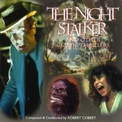 The Night Stalker and Other Classic Thrillers Soundtrack (Robert Cobert) - CD cover