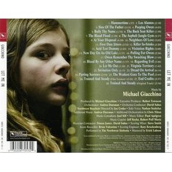Let Me In Soundtrack (Michael Giacchino) - CD Trasero
