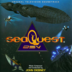 SeaQuest DSV Soundtrack (John Debney) - CD cover