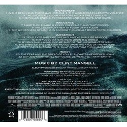 Noah Soundtrack (Clint Mansell) - CD Back cover