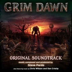 Grim Dawn Soundtrack (Steve Pardo) - CD cover