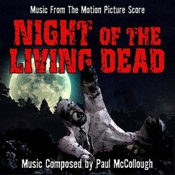 Night of the Living Dead Soundtrack (Paul McCollough) - CD cover