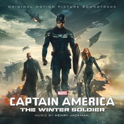 Captain America: The Winter Soldier Soundtrack (Henry Jackman) - CD cover