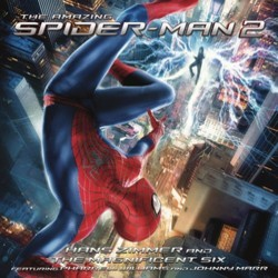 The Amazing Spider-Man 2 Soundtrack (Various Artists, Johnny Marr, Pharrell Williams, Hans Zimmer) - CD cover