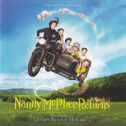Nanny McPhee & the Big Bang Soundtrack (James Newton Howard) - CD cover