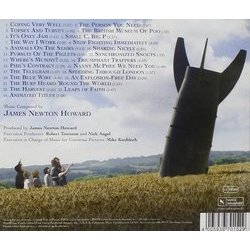 Nanny McPhee & the Big Bang Soundtrack (James Newton Howard) - CD Back cover