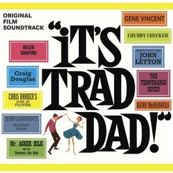 It's Trad, Dad! Soundtrack (Various Artists) - CD cover