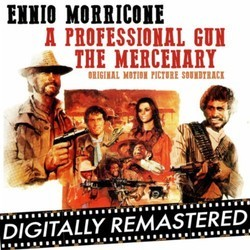 A Professional Gun - The Mercenary Soundtrack (Ennio Morricone) - CD cover