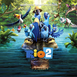 Rio 2 Soundtrack (Various Artists) - CD cover