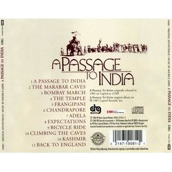 A Passage to India Bande Originale (Maurice Jarre) - CD Arrière