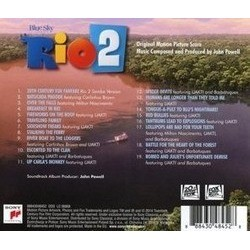 Rio 2 Soundtrack (Various Artists,  Barbatuques, John Powell) - CD Back cover