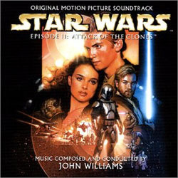 Star Wars Episode II: Attack of the Clones Soundtrack (John Williams) - CD-Cover