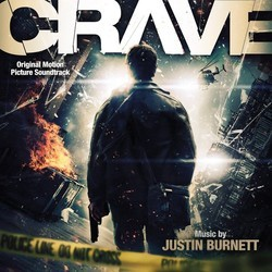 Crave Soundtrack (Justin Burnett) - CD cover