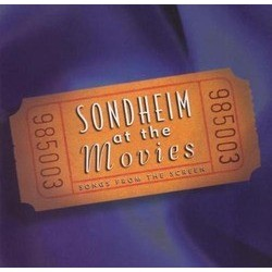 Sondheim at the Movies Soundtrack (Various Artists, Stephen Sondheim) - CD-Cover
