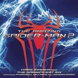 The Amazing Spider-Man 2 Soundtrack (Johnny Marr, Pharrell Williams, Hans Zimmer) - CD cover