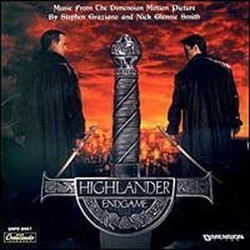Highlander: Endgame Soundtrack (Nick Glennie-Smith, Stephen Graziano) - CD-Cover