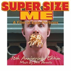 Lets Get Phat! Super Size Me Soundtrack (Steve Horowitz) - CD cover