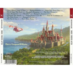 Shrek Forever After 声带 (Harry Gregson-Williams) - CD后盖