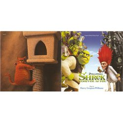 Shrek Forever After Μουσική υπόκρουση (Harry Gregson-Williams) - cd-inlay