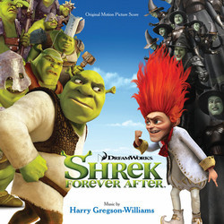 Shrek Forever After Soundtrack (Harry Gregson-Williams) - CD cover
