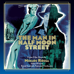 The Man in Half Moon Street Soundtrack (Mikl�s R�zsa) - CD cover